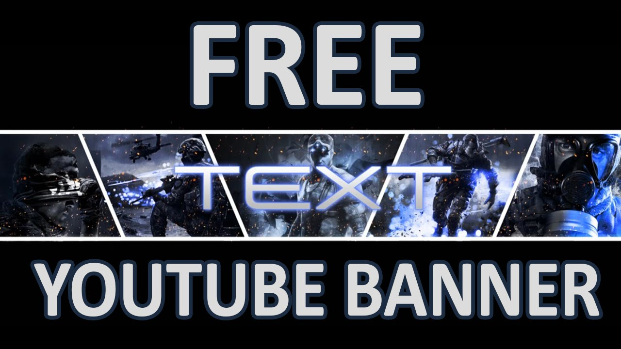 Gaming YouTube Banners Free