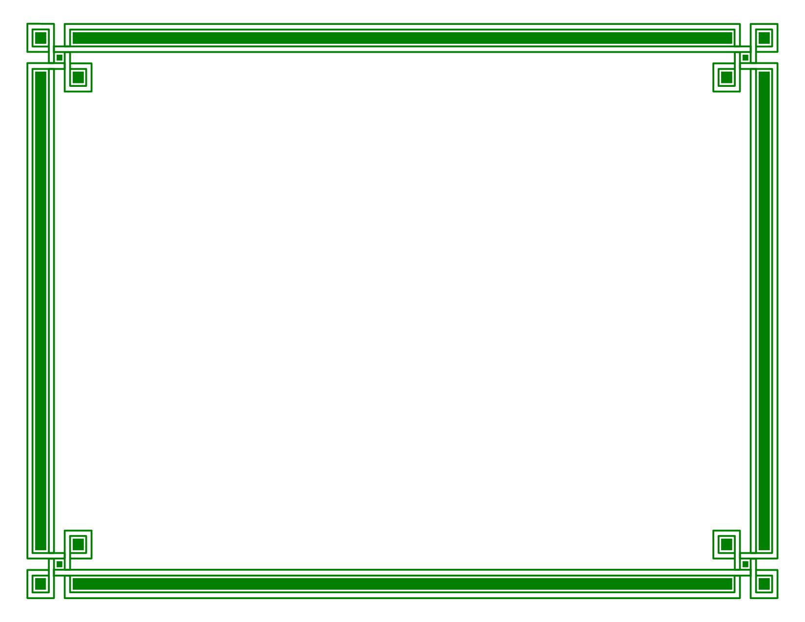 14 Borders Vector Green Certificate Images Free Vector Certificate
