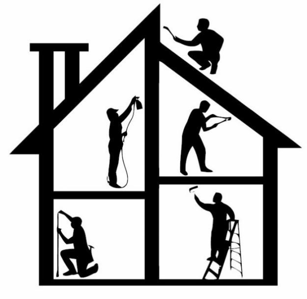 Home Repair Logo Clip Art