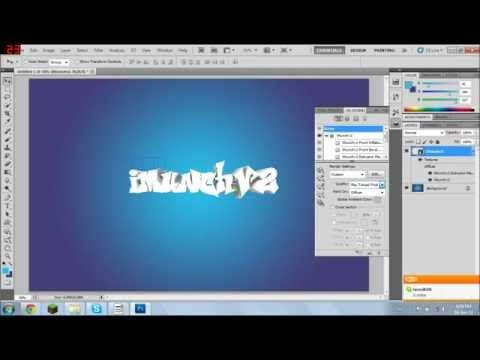 How to Make 3D Text Adobe Photoshop