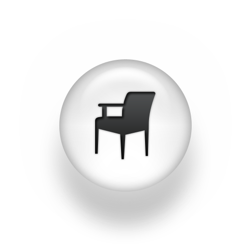 Icon Person Sitting in Chair