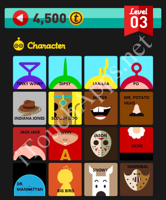 Character Design Quiz : Icon pop quiz com images characters