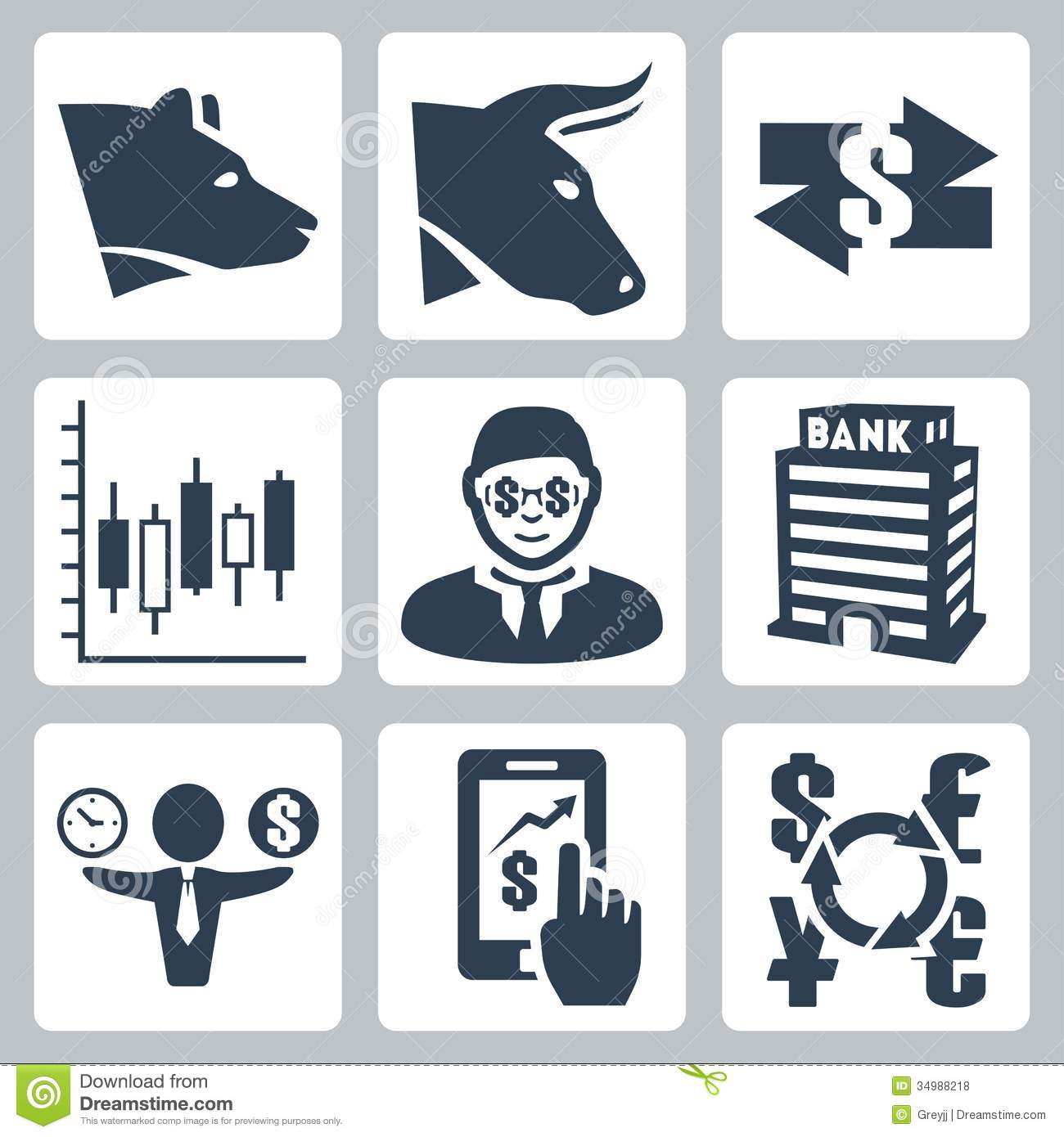 14 Stock Exchange Icon Images
