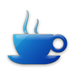 5 Coffee Shop Icon Png Blue Images Coffee Cup Icon Coffee Shop Napkin And Lebanon Newdesignfile Com