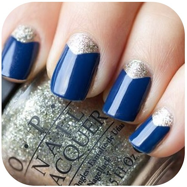 11 Reverse French Tip Nail Designs Images - Reverse French Tip Nails ...