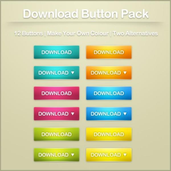 PSD Button Web Page