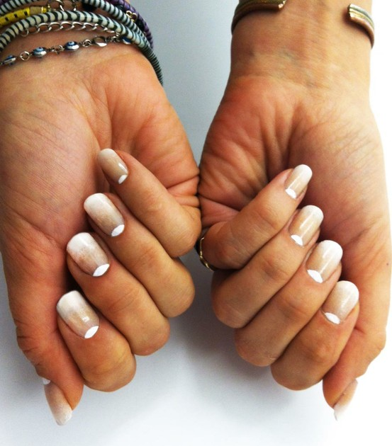 11 Reverse French Tip Nail Designs Images