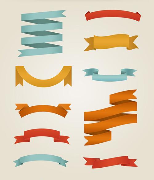 Ribbon Fonts Free Download PSD