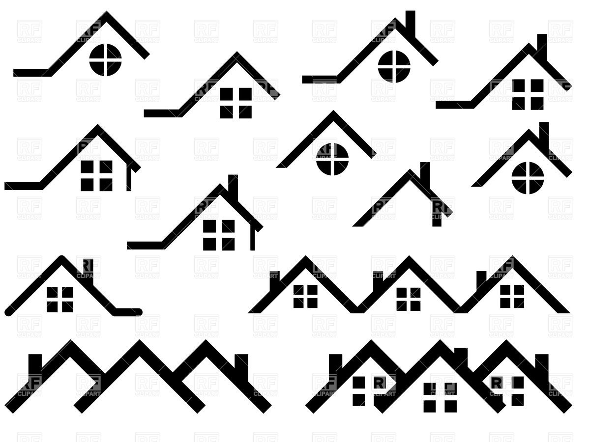 15 Simple Roof Icon Vector Free Images