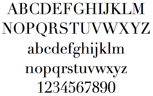 11 Thick And Thin Serif Font Images