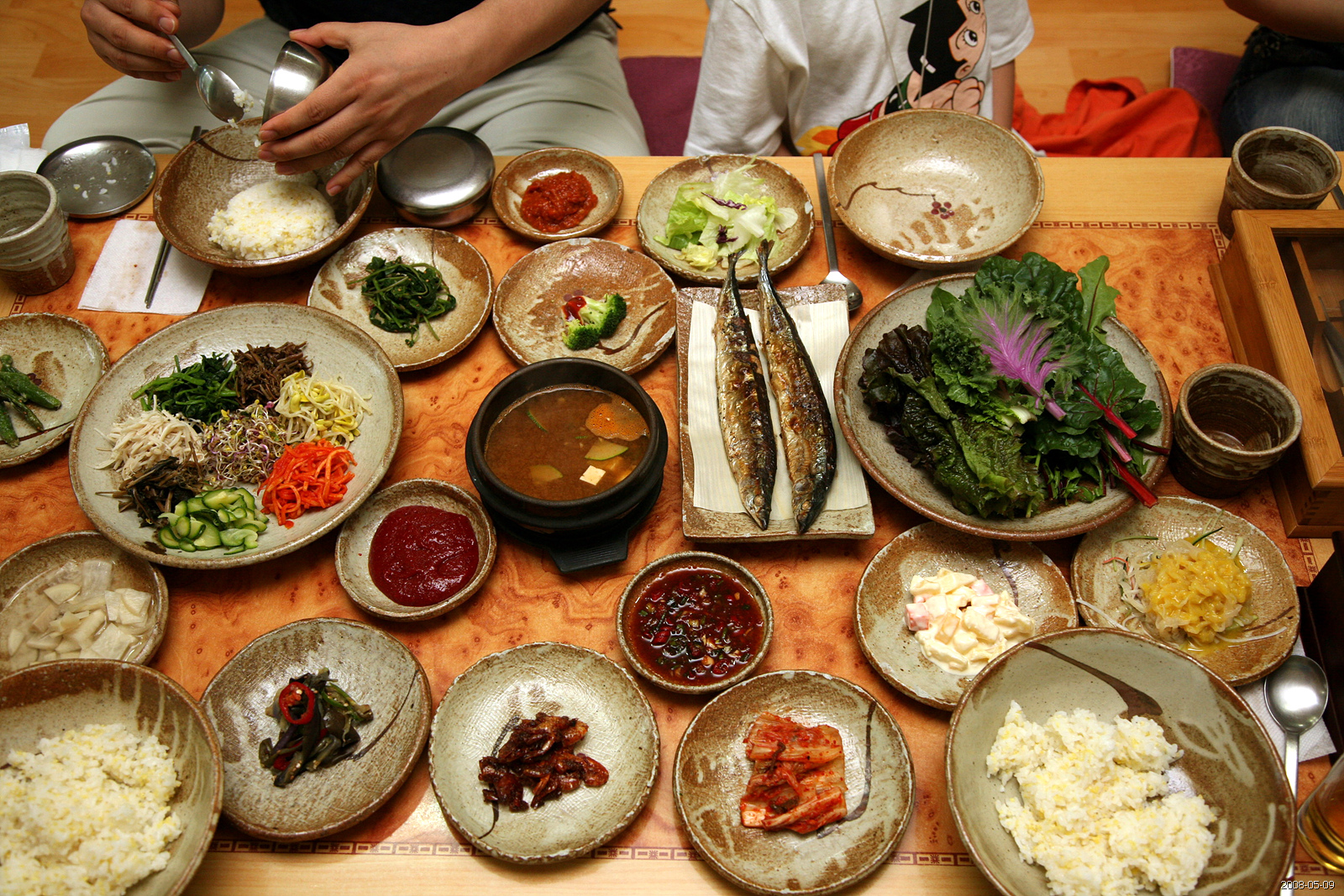South Korean Food History