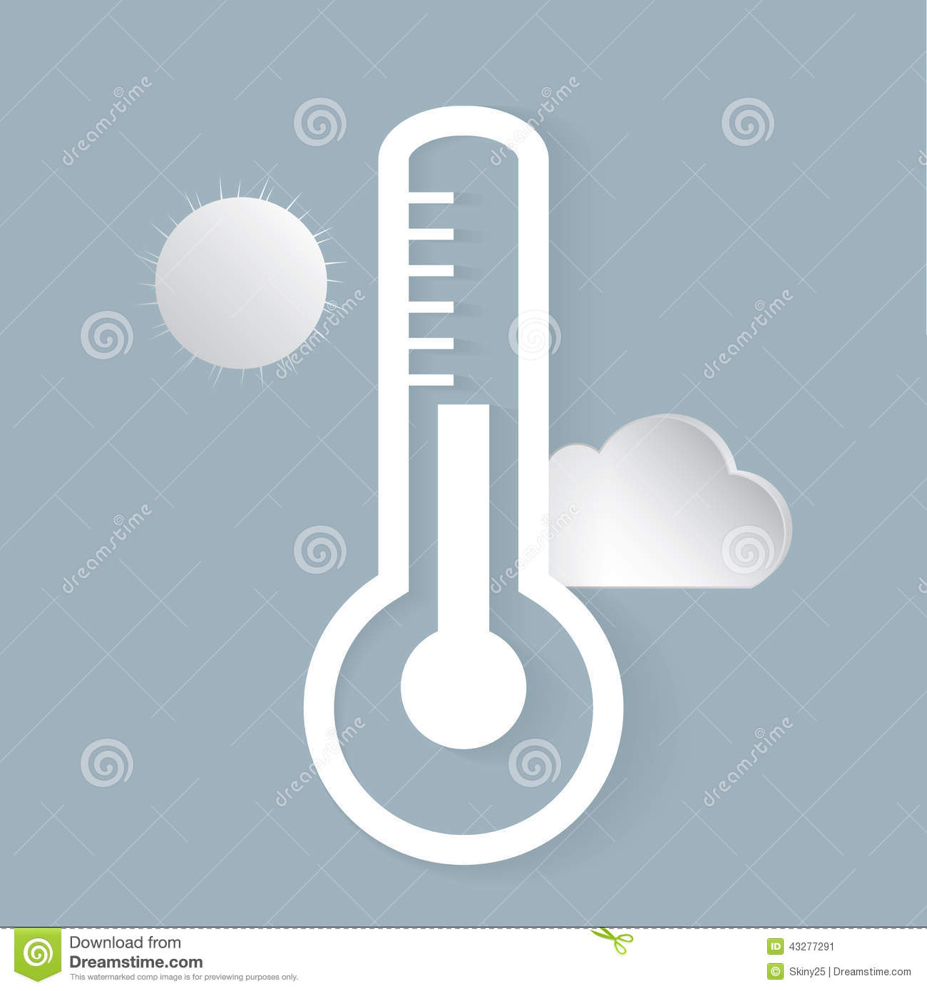 Sun Shaped Outdoor Weather Thermometer