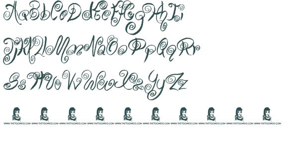 Swirly Cursive Fonts