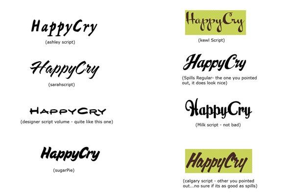 Swirly Fonts