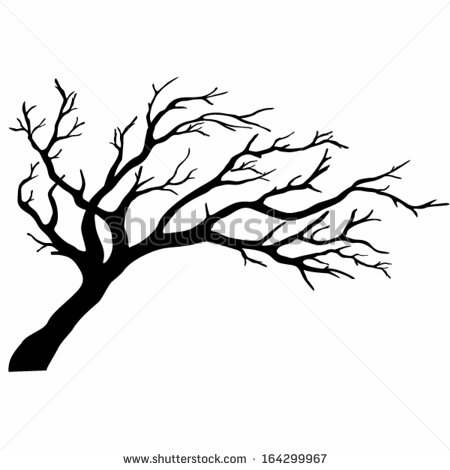 8 Tree Branch Silhouette Vector Images
