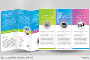 Brochure Design Templates For Photoshop Images Photoshop Tri - Brochure photoshop template