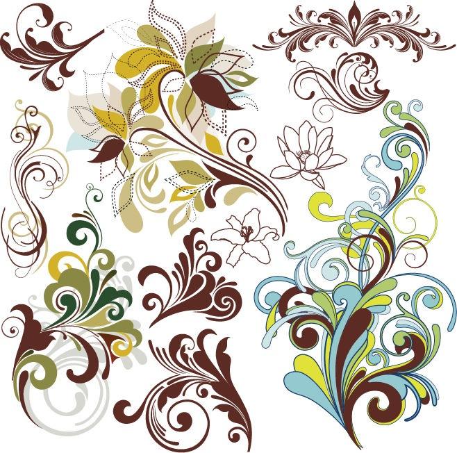 20 Vintage Floral Design Images