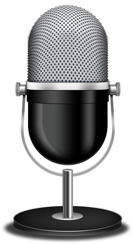 10 Free Vector Microphone Icon Images