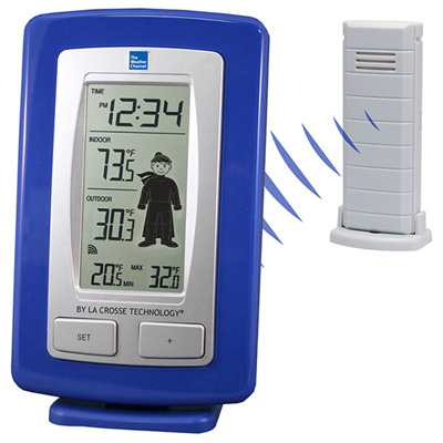 Weather Channel Thermometer Outdoor