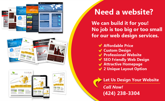Website Design Flyer
