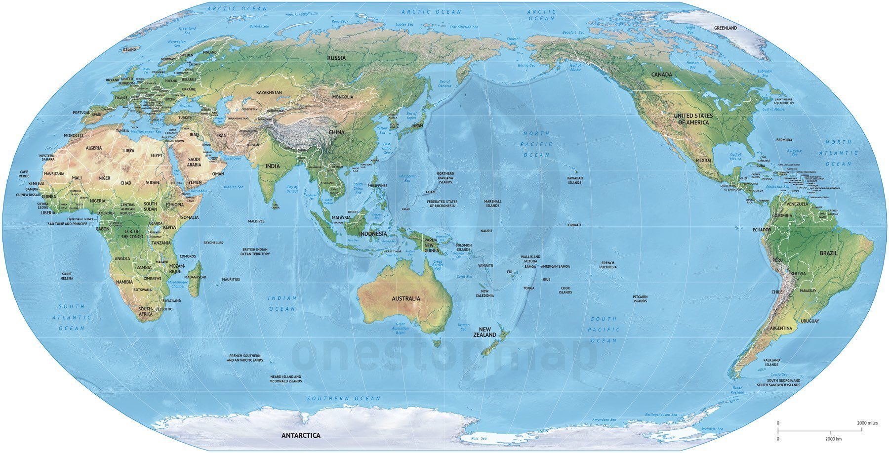 11 asia and australia map vector images australia centered world world map asia center gumiabroncs Image collections