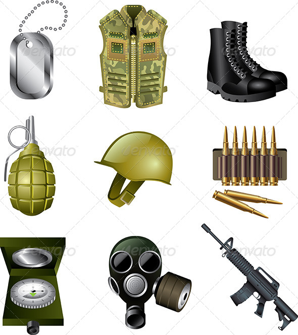 12 Military Person Icon Images Army Officer Icon Female