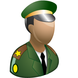 12 Military Person Icon Images