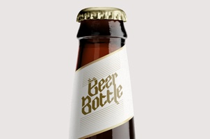 Beer Bottle Template