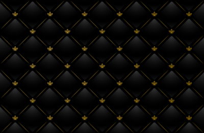 Black and Gold Diamond Pattern
