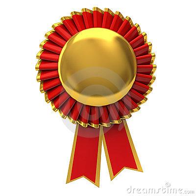 Blank Award Ribbon Template