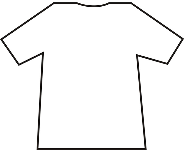 12 Printable T-Shirt Template Images