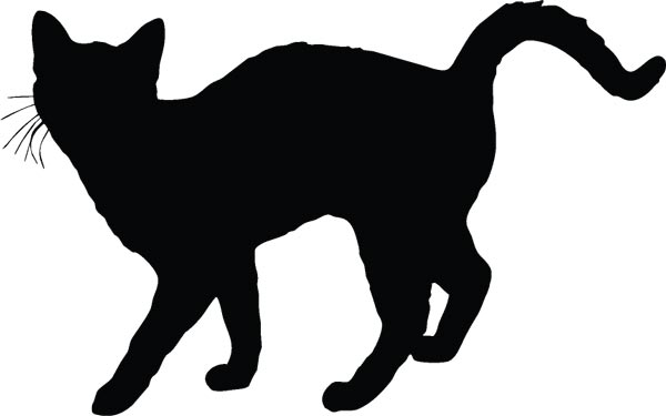 Cat Silhouette Shapes