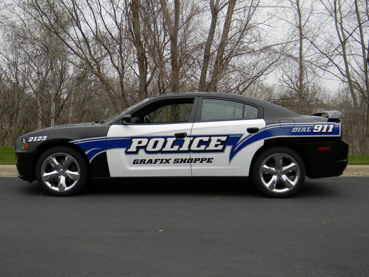 Charger Police Car Graphics