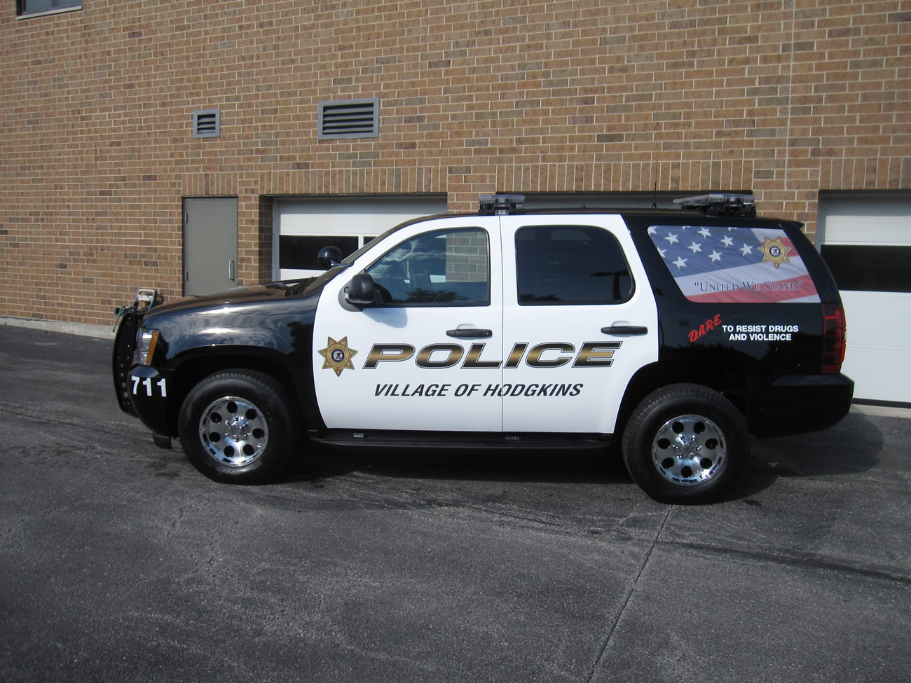 Chevy Tahoe Police Car