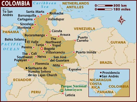 9 Icon Map Of Colombia Images
