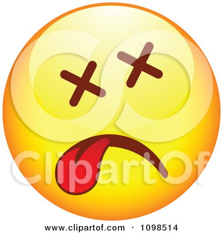 Dead Smiley Face Clip Art