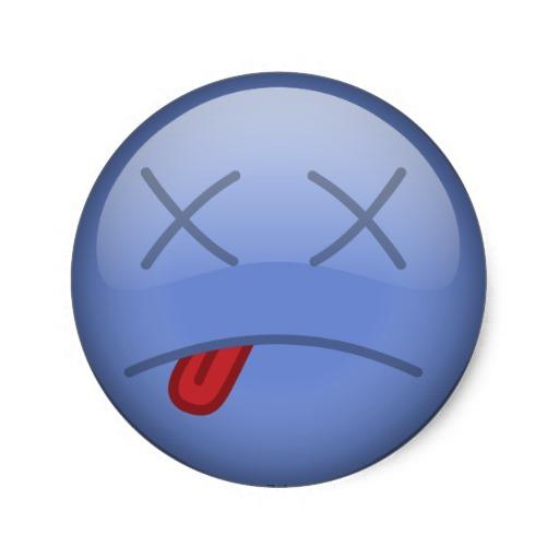 Dead Smiley-Face Icon