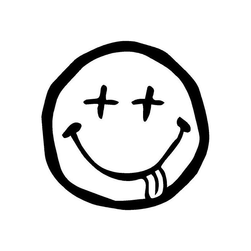 Dead Smiley Face Logo