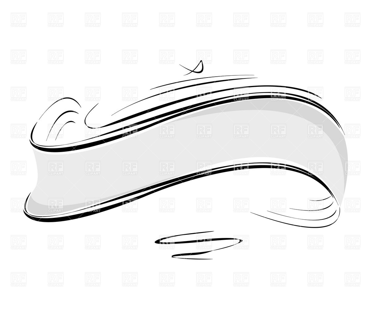 8 Silver Ribbon Vector Images