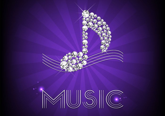 Diamond Music Notes