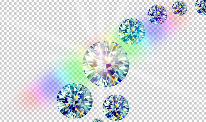 Diamond Transparent Background Photoshop