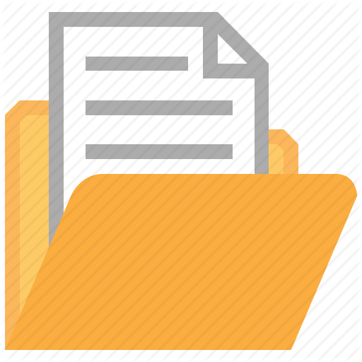 Document File Folder Icon