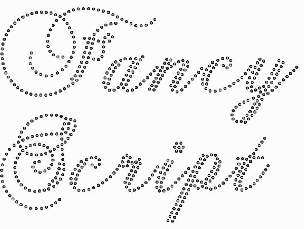 Fancy Cursive Script Fonts Free