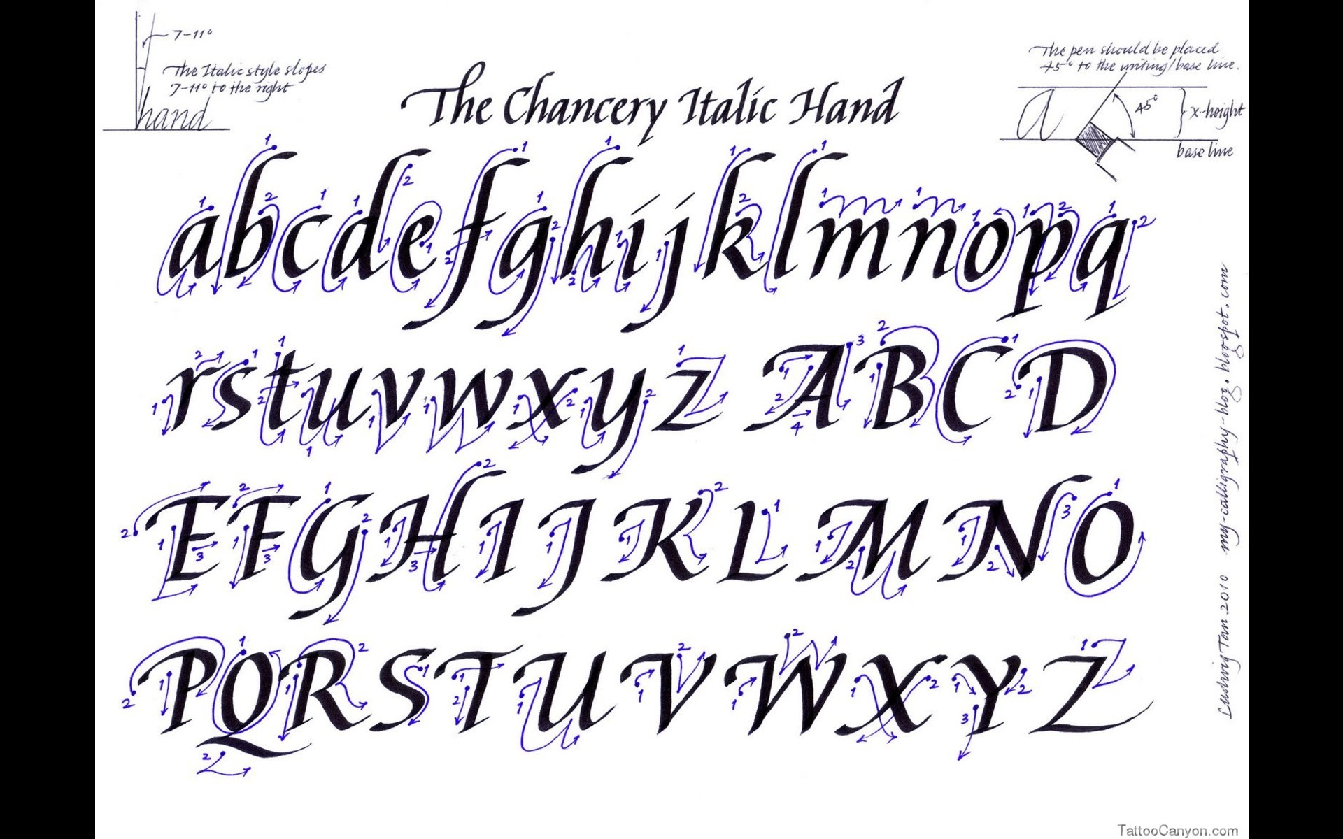 Fancy Cursive Fonts Generator
