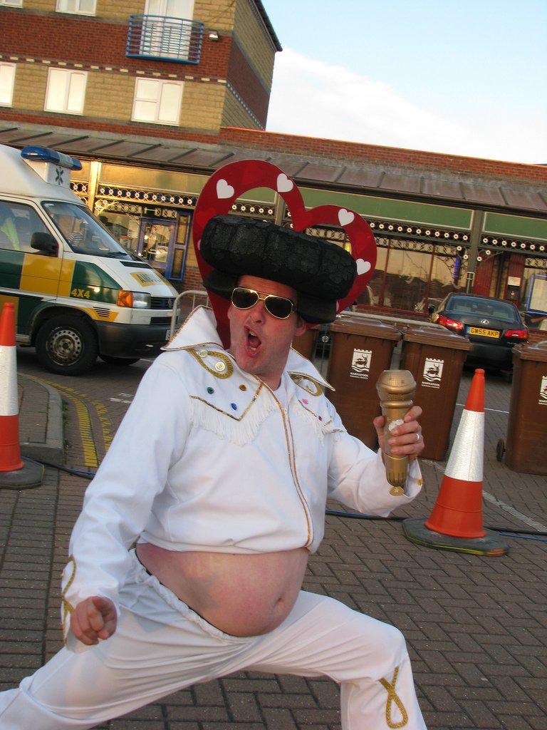 Fat Elvis Halloween Costume
