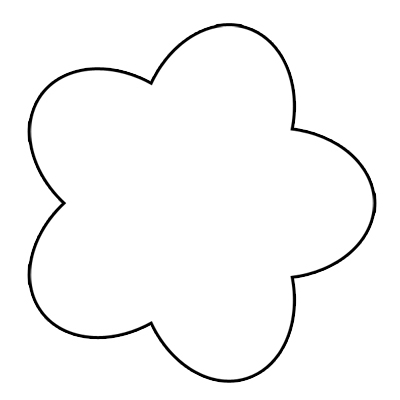 Flower Outline Clip Art