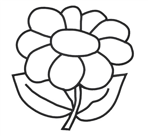 Flower Outline Designs