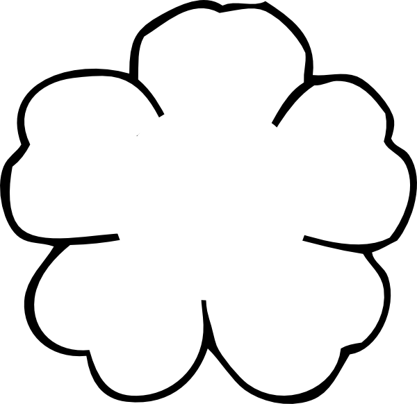 Flower Outline Printable