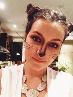 Fox Face Halloween Makeup