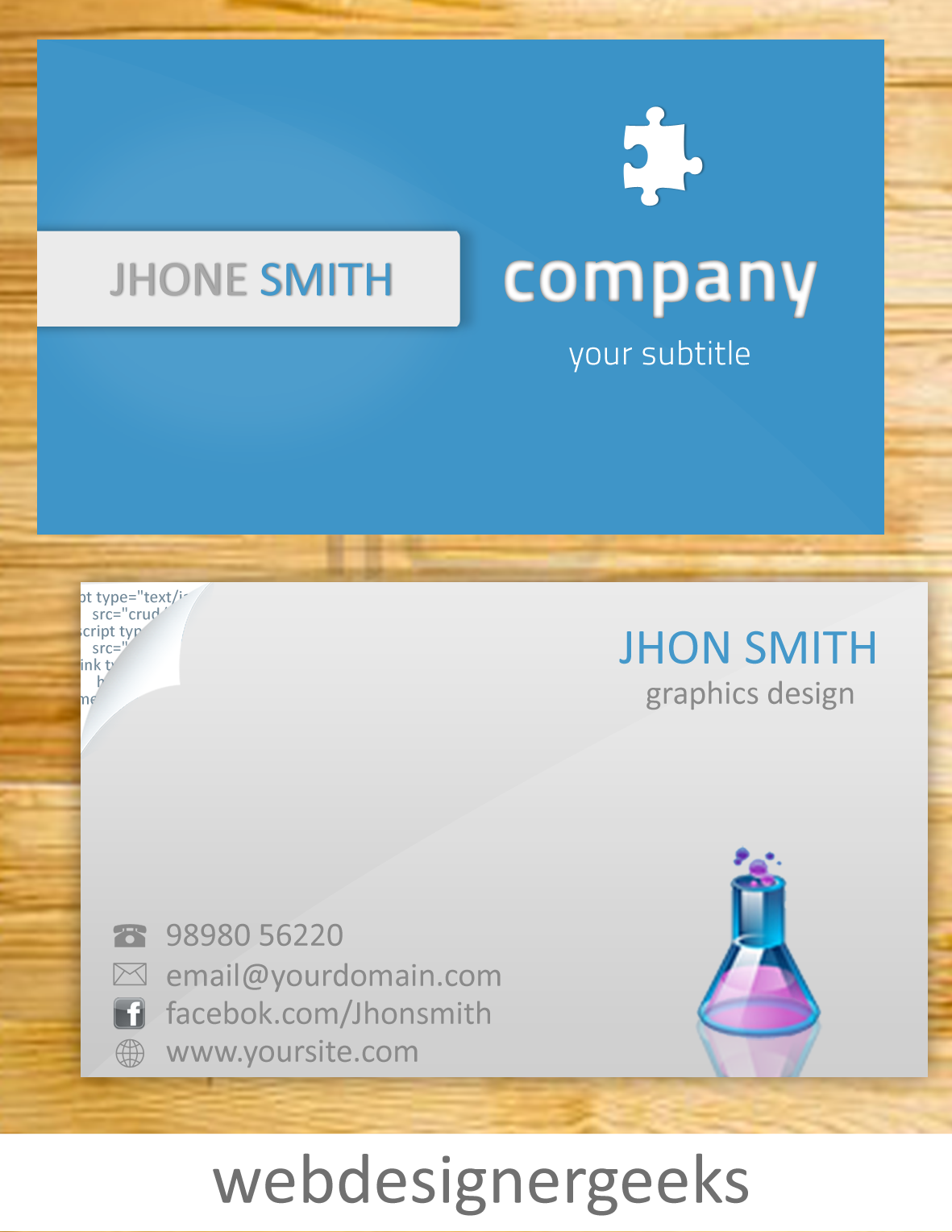Free business card template datariouruguay reheart Image collections